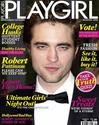 robert pattinson 2011. Robert Pattinson for Playgirl