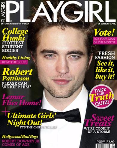 robert pattinson 2011. Robert Pattinson for Playgirl