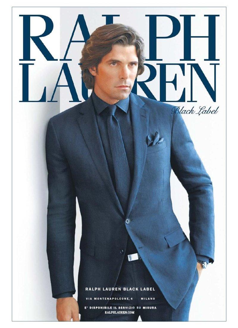 Ralph Lauren Fashion Show At New York: Ralph Lauren Black Label
