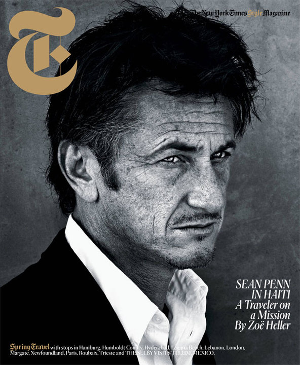 Sean Penn For The New York Times Style Magazine Spring Travel 2011