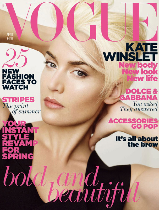 Kate Winslet Vogue April. Kate Winslet for Vogue UK