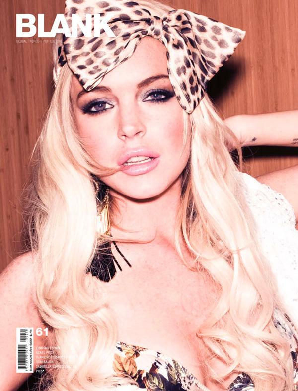 lindsay lohan 2011 photos. Lindsay Lohan for Blank