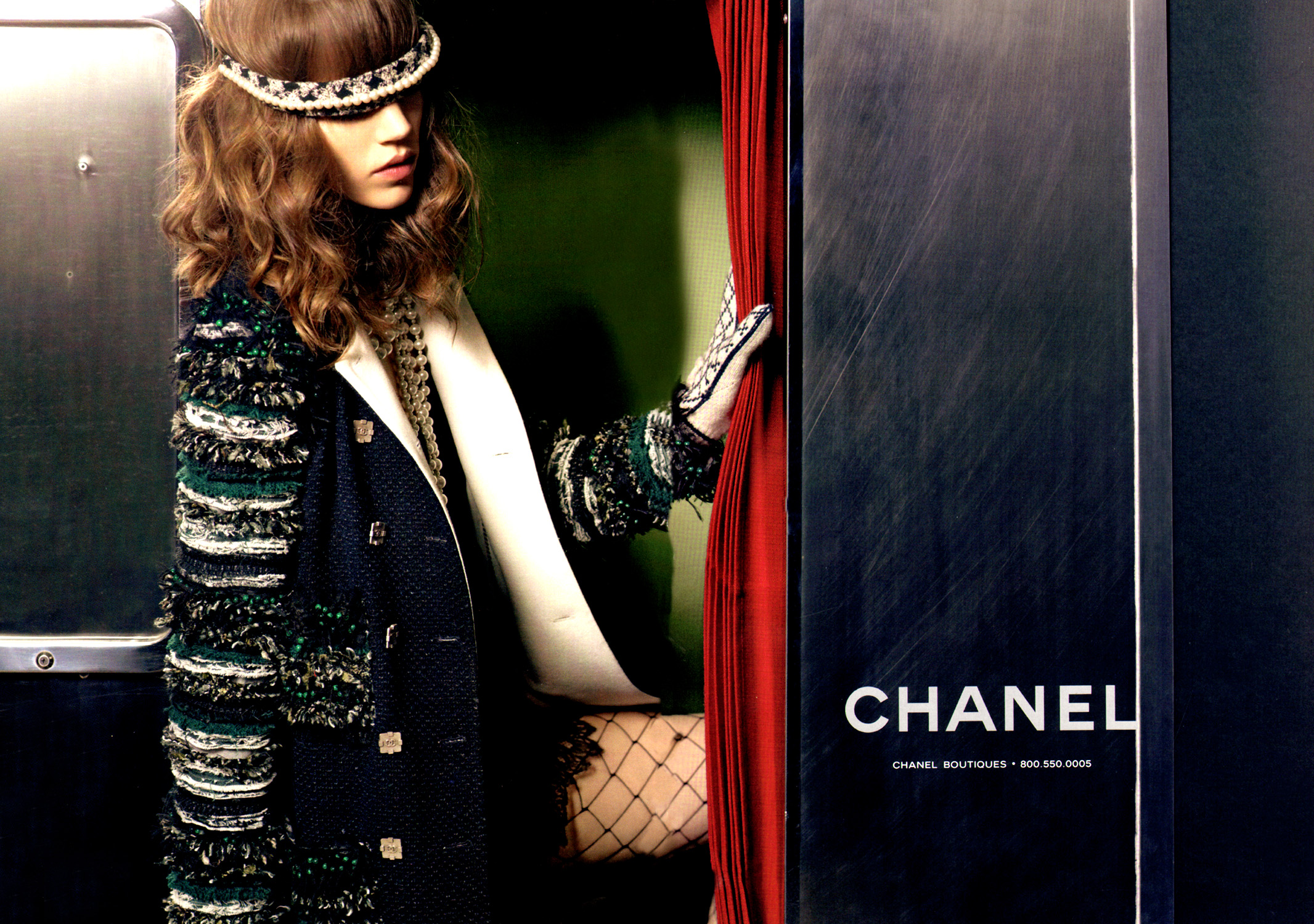 Chanel Cruise 2011 Ad Campaign images