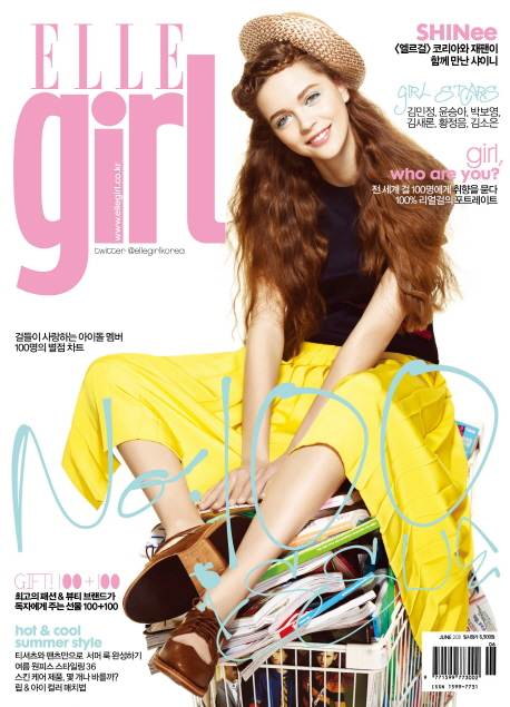 Elle girl korea june 2011 cover art8amby 39 s blog for Elle subscription change address