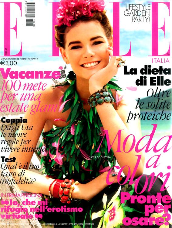 Flavia de oliveira art8amby 39 s blog for Elle italia