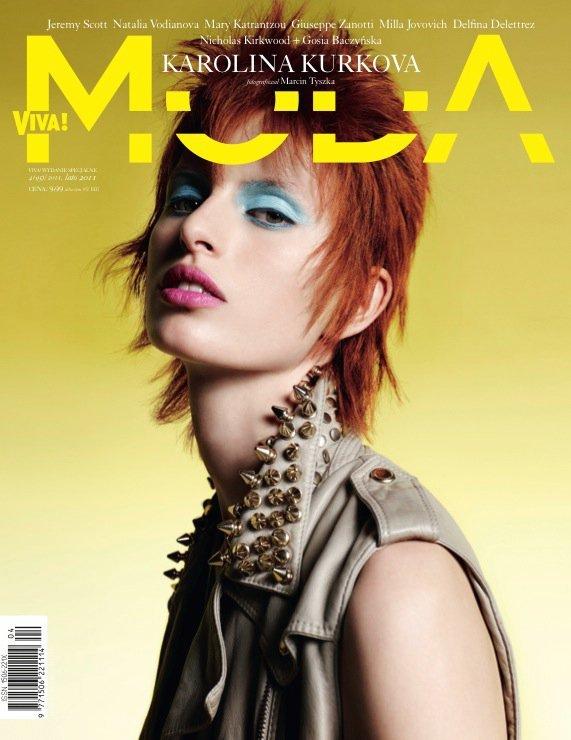 Karolina Kurkova For Viva! Moda Magazine Summer 2011