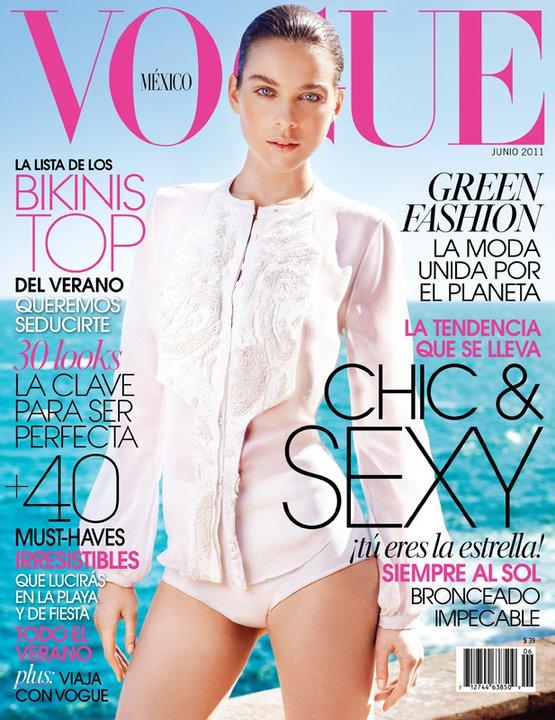 Kim Noorda for Vogue Mexico June 2011