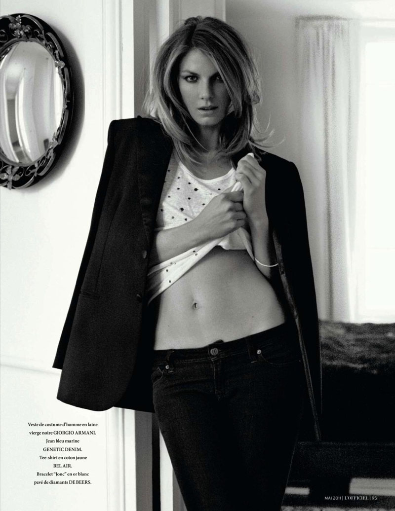 Editorial angela lindvall for l'officiel paris by marcin tyszka