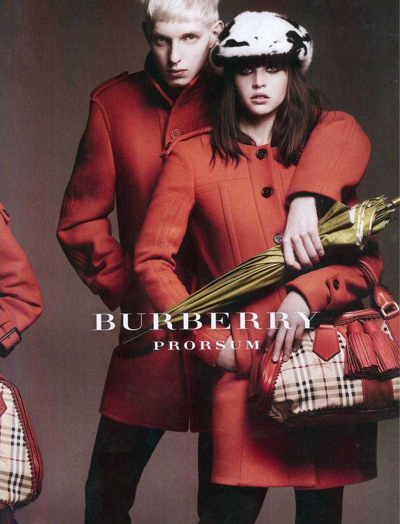Burberry, Spring-Summer 2011 Campaign by Mario Testino