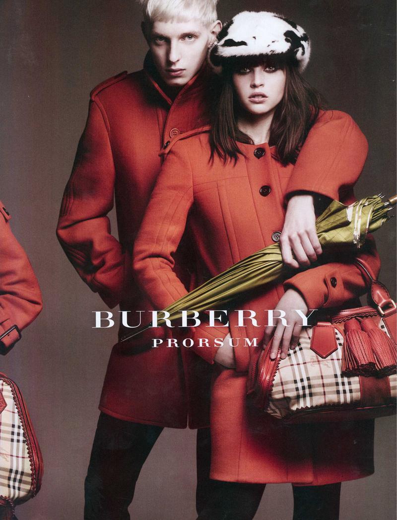 Burberry Prorsum Fall Winter 2011 Ad Campaign
