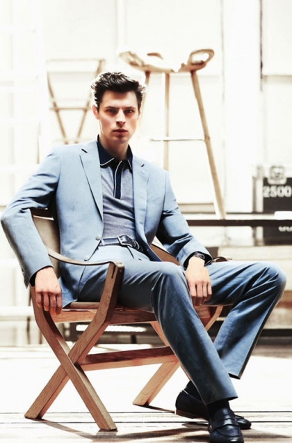 Art8amby S Blog: Canali Spring Summer 2011 Ad Campaign