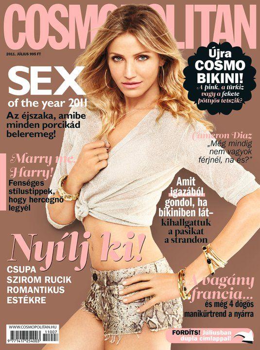 cameron diaz cosmopolitan june 2011. Cameron Diaz for Cosmopolitan