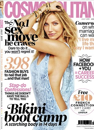 cameron diaz cosmopolitan photos. Cameron Diaz for Cosmopolitan