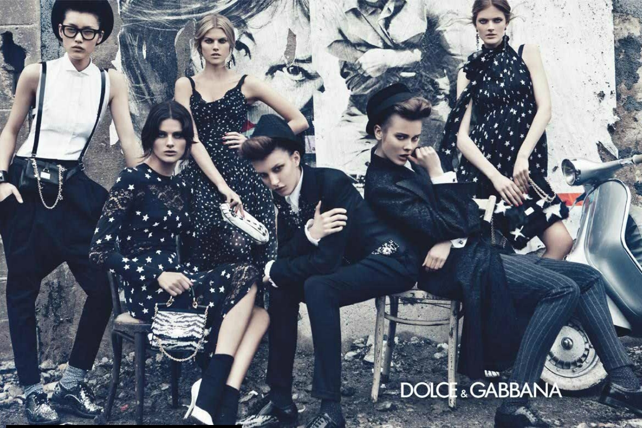 dolce gabbana fall winter 2011 ad campaign art8amby 39 s blog. Black Bedroom Furniture Sets. Home Design Ideas