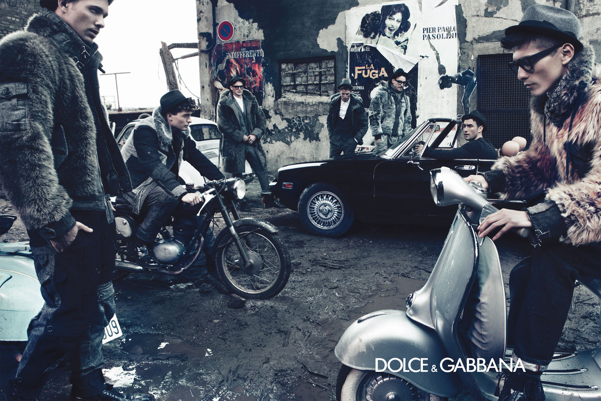 dolce gabbana menswear fall winter 2011 ad campaign. Black Bedroom Furniture Sets. Home Design Ideas