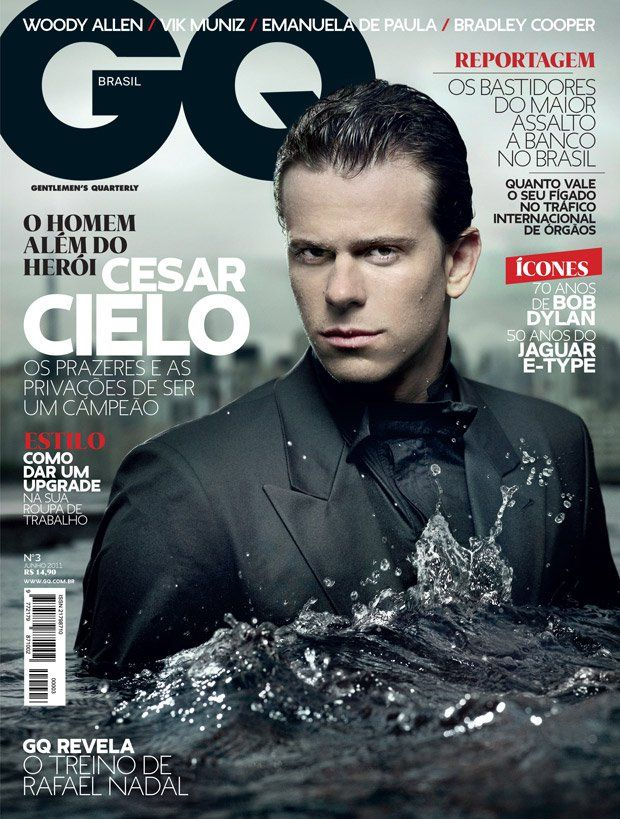Cesar Cielo Twitter Cesar Cielo For gq Brazil June