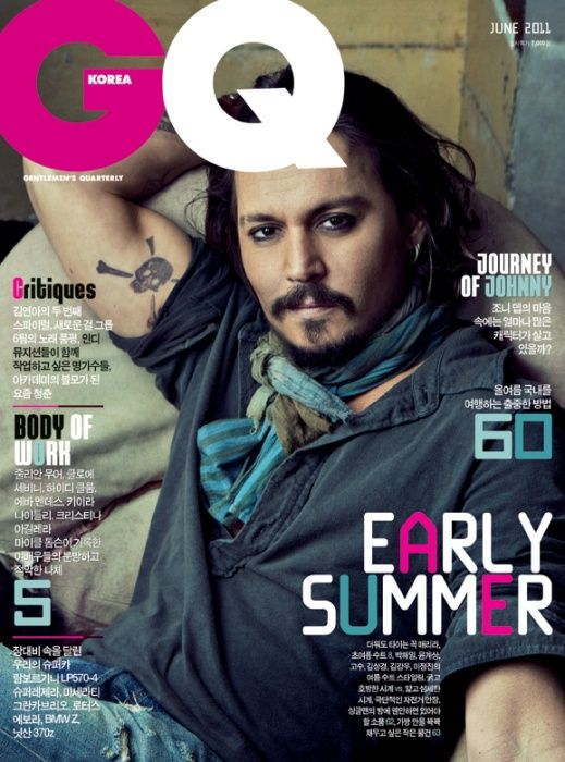 johnny depp january 2011. A reprint image of Johnny Depp