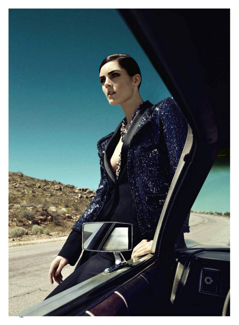 Hilary Rhoda look stunning