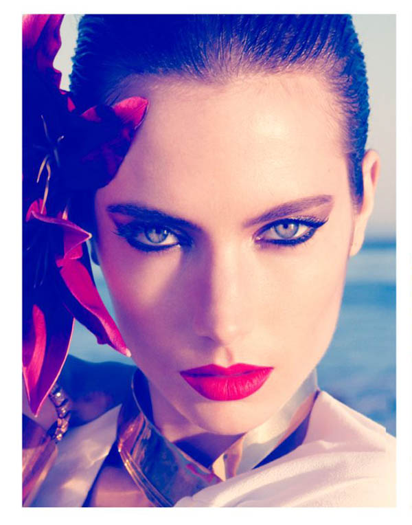 "<b>Jessica Miller</b> for Harper's Bazaar UK June 2011 editorial ""Wild Orchid"" <b>...</b> - jessica-miller6"