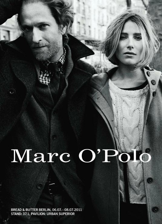 marc o polo fall winter 2011 ad campaign preview. Black Bedroom Furniture Sets. Home Design Ideas