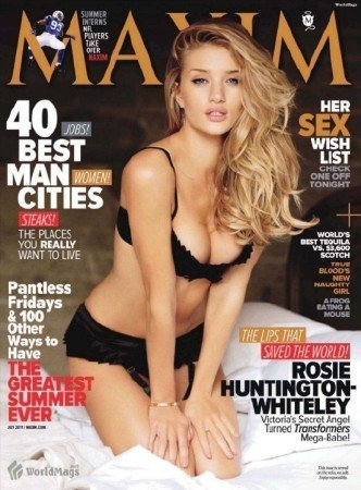 rosie huntington whiteley maxim. Rosie Huntington-Whiteley