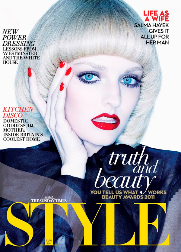 Ben hassett for the latest cover of the sunday times style magazine