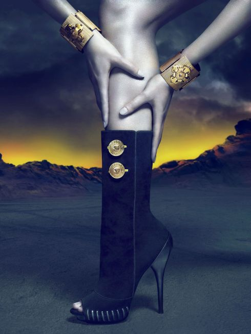Versace Fall Winter 2011 Ad Campaign