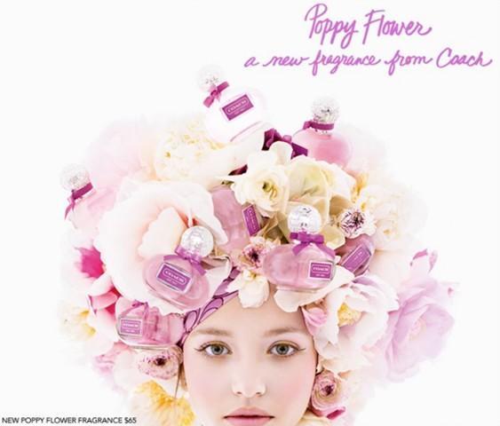 Coach poppy flower fragrance 2011 ad campaign art8ambys blog coach poppy flower fragrance 2011 ad campaign mightylinksfo