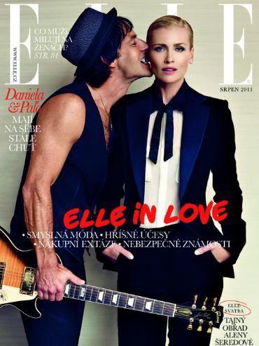 Pavol Habera & Daniela Pestova for Elle Czech August 2011