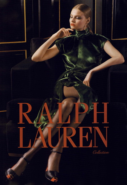 Ralph Lauren Collection Fall Winter 2011 Ad Campaign ...