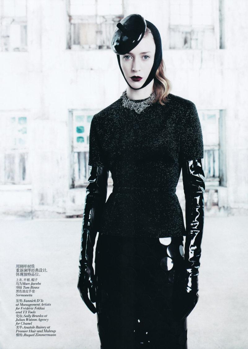 Raquel Zimmermann for Vogue