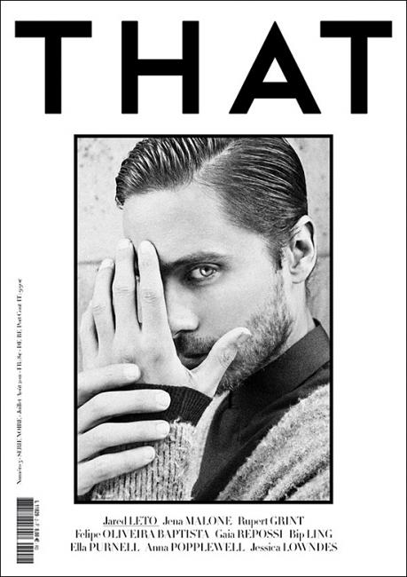 Three Covers of THAT Magazine Summer 2011. By art8amby. Jared Leto ...