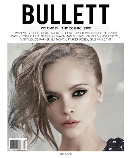 Christina Ricci for Bullett Magazine Volume IV Fall 2011 ...