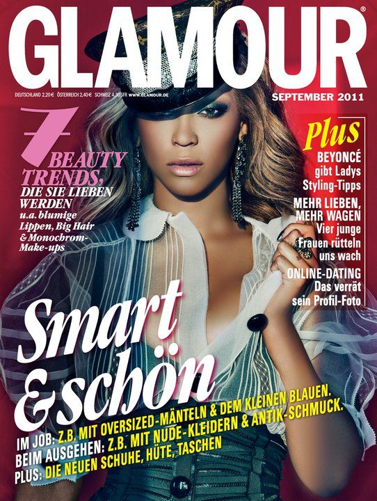 Beyonce For Glamour Germany September 2011 Art8amby S Blog
