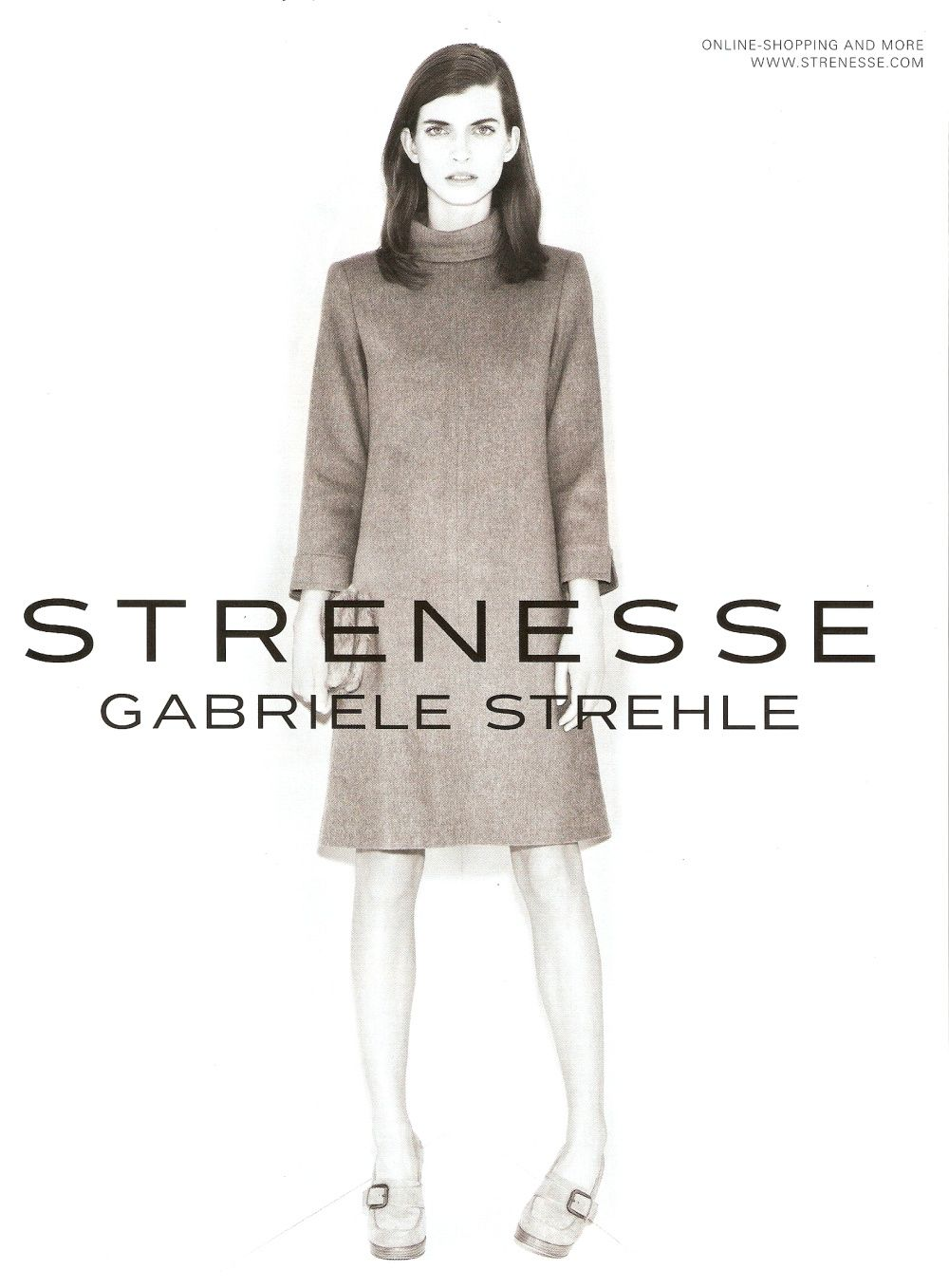 strenesse gabriele strehle fall winter 2011 ad campaign preview art8amby 39 s blog. Black Bedroom Furniture Sets. Home Design Ideas