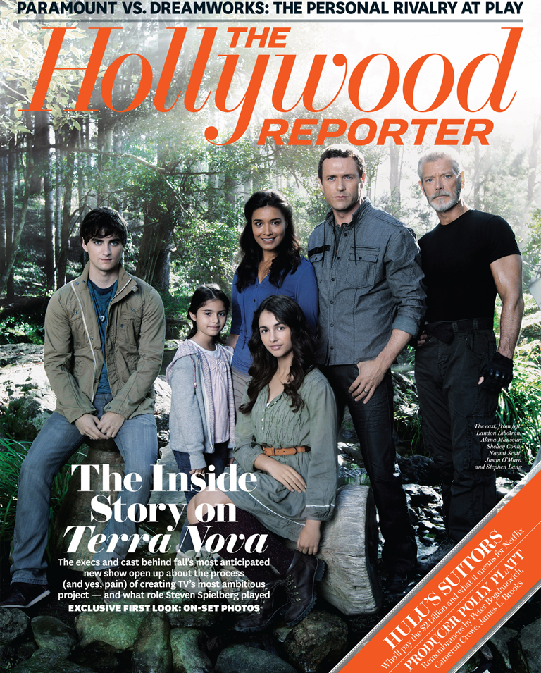 Terra Nova Casts for The Hollywood Reporter Issue 28 August