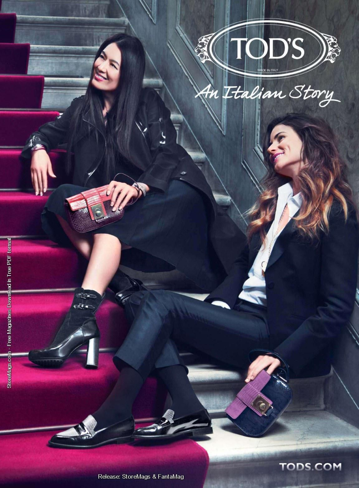 Tod's Fall Winter 2011 Ad Campaign Preview