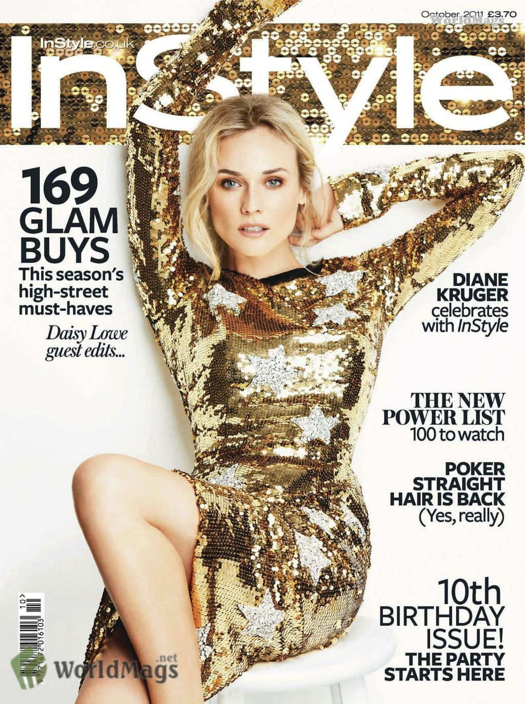 diane kruger for instyle uk october 2011 art8amby 39 s blog. Black Bedroom Furniture Sets. Home Design Ideas