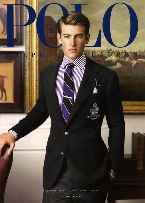 Out Polo ralph lauren black male models