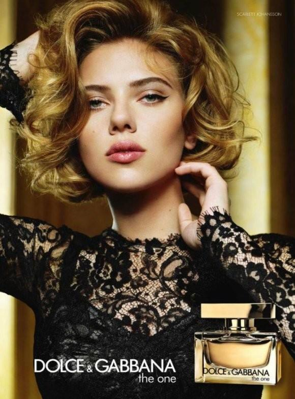 26 year old Scarlett Johansson is featured for the 2011 campaign of Dolce ...