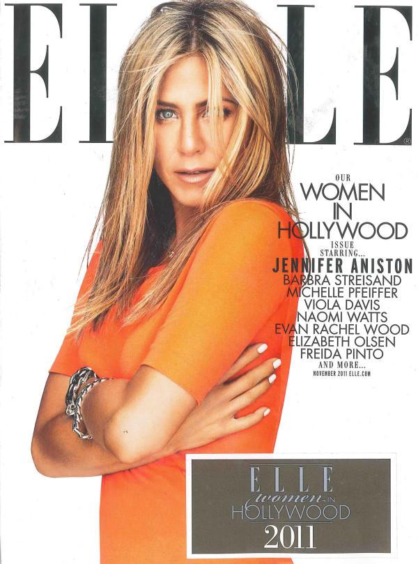 Jennifer Aniston for Elle US November 2011 | Art8amby\'s Blog