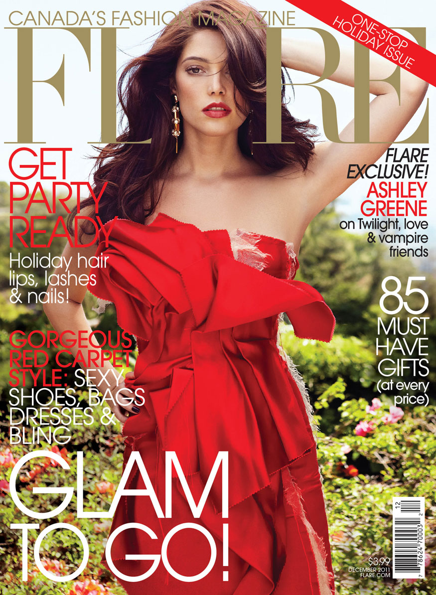 Watch Ashley Greene Covers InStyle Hair 2011 video