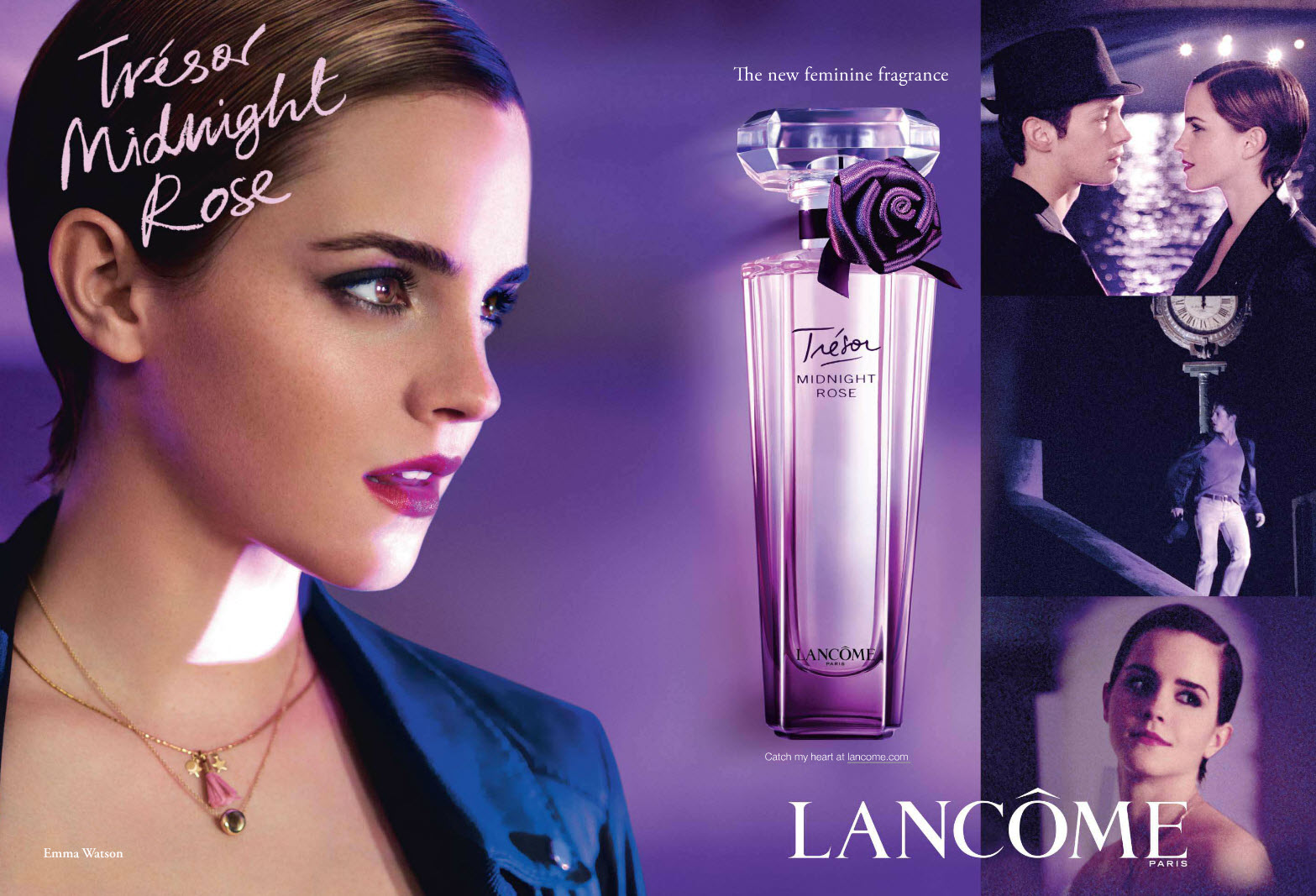 Lancôme Trésor CampaignArt8amby's Ad Rose Fragrance Midnight 2011 OiPXuwkZTl