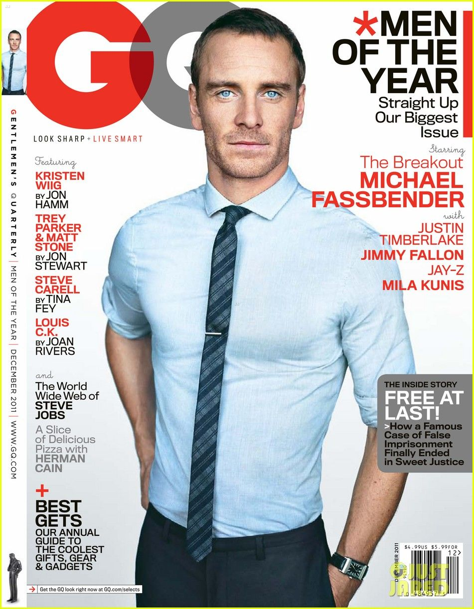 Three More Covers Of GQ US December 2011