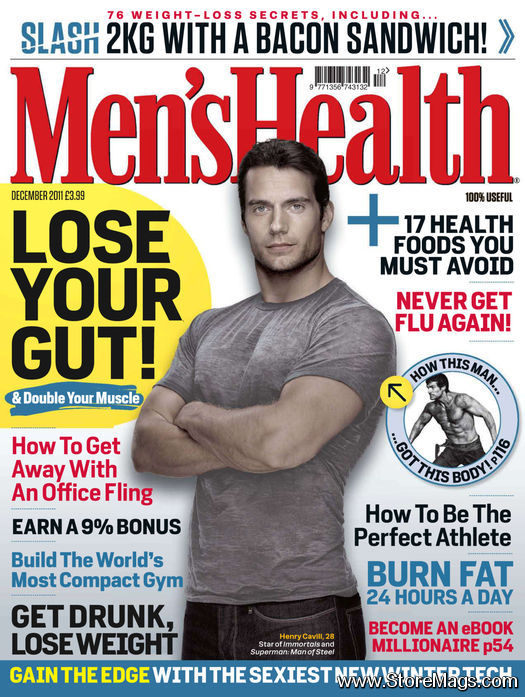 MENS HEALTH UK November 2016 + Luxe Food Magazine EPICURE @NEW@