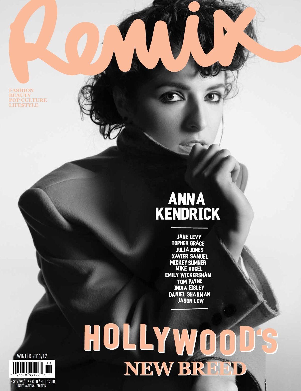 Anna Kendrick For Remix Magazine Winter 2011