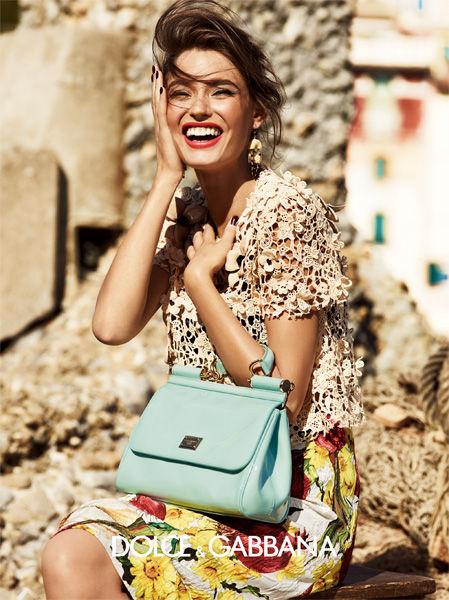 Dolce & Gabbana Spring Summer 2012 Ad Campaign