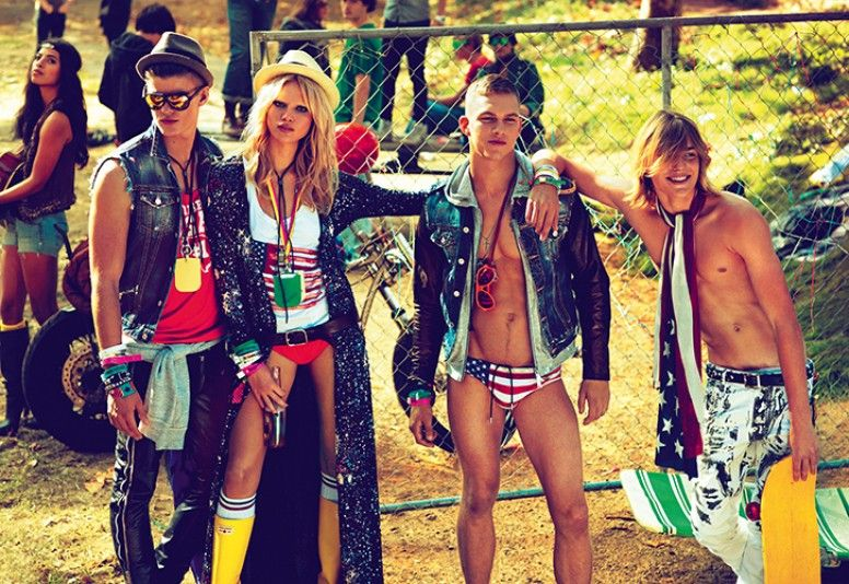 DSquared2 Spring Summer 2012 Ad Campaign