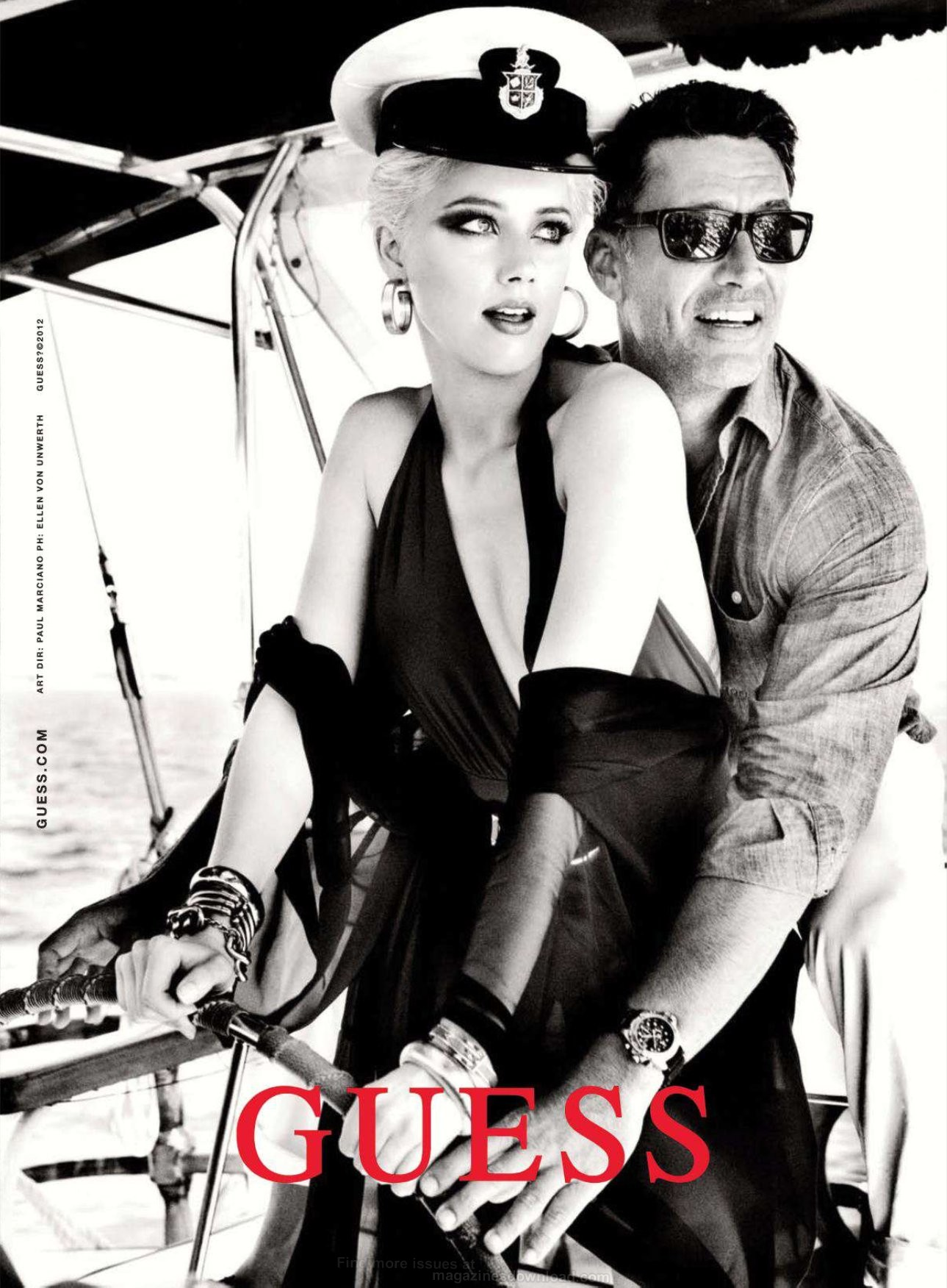 guess spring summer 2012 ad campaign art8ambys blog