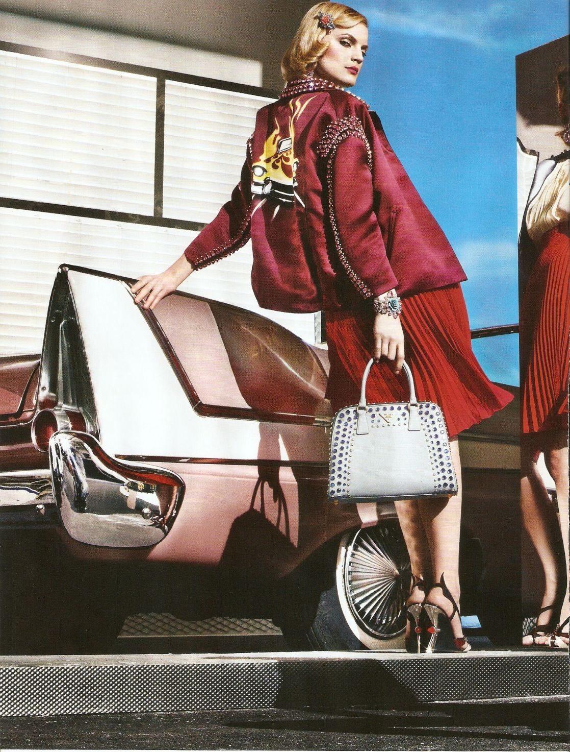 Summer 2012 Nail Art Ideas: Prada Spring Summer 2012 Ad Campaign